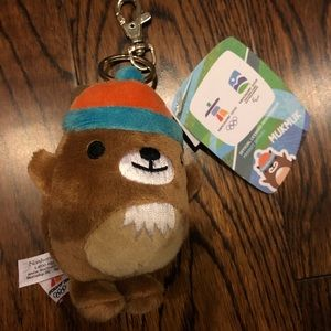 NWT Vancouver 2010 Olympics mascot keychain.